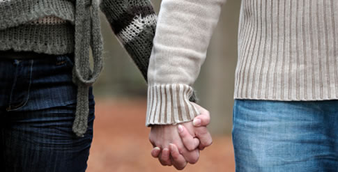 Couples Therapy - Holding Hands